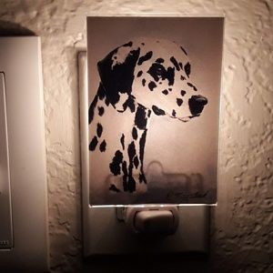 🐕 Dalmatian Night Light